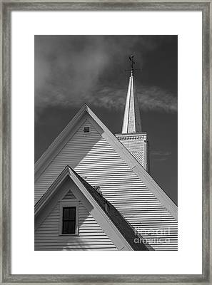 Historic Long River Church Avonlea Village Pei Framed Print