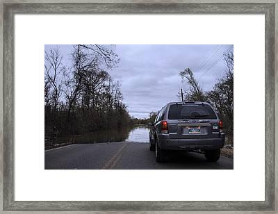 Historic Louisiana Flooding Framed Print
