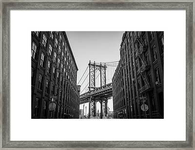 Historic New York Framed Print by Mike Burgquist