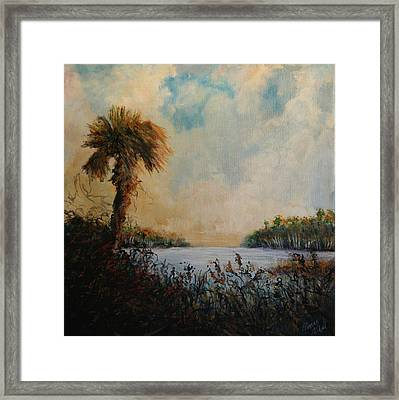 Historic Palm Framed Print by Michele Hollister - for Nancy Asbell