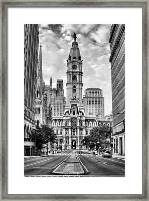 Historic Philly City Hall Framed Print by JC Findley