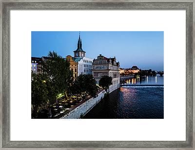 Historic Prague Framed Print