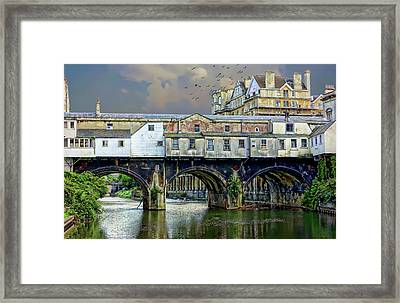Historic Pulteney Bridge Framed Print