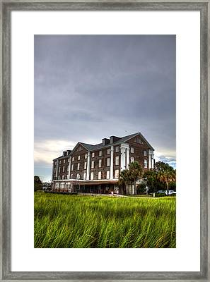 Historic Rice Mill Building Framed Print