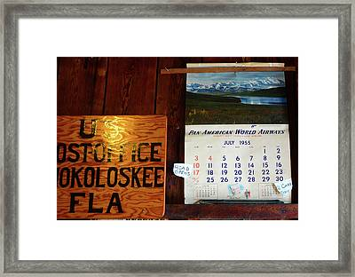 Historic Road Opens 1955 Framed Print by David Lee Thompson