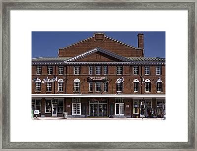 Historic Roanoke City Market Building Framed Print
