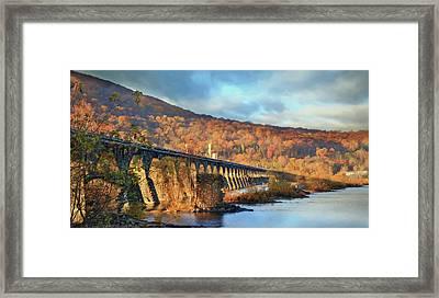 Historic Rockville Bridge Framed Print