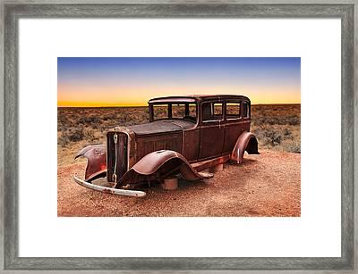 Historic Route 66 Framed Print