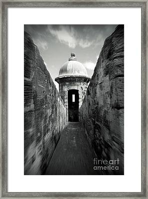 Historic San Juan Framed Print by Perry Webster