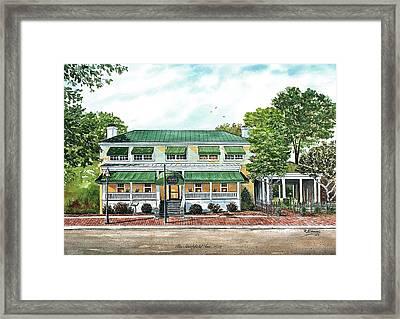 Historic Smithfield Inn Framed Print by Raymond Edmonds