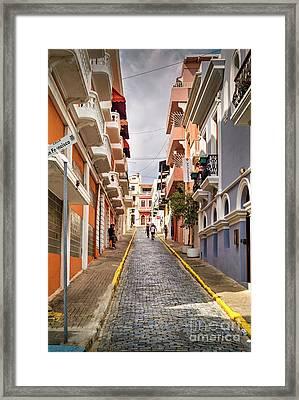 Historic Spanish Colonial   Framed Print by David Zanzinger