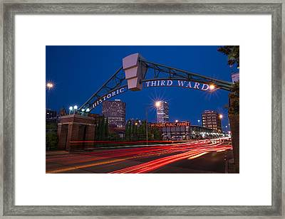 Historic Third Ward Milwaukee Framed Print
