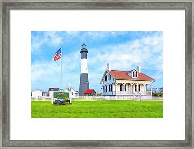 Historic Tybee Island Light Station Framed Print
