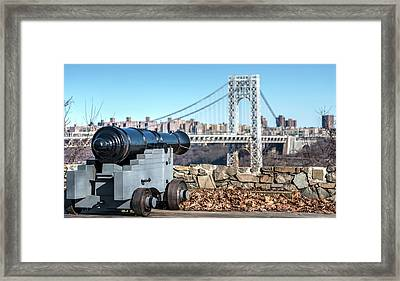 Historic View Framed Print by Michael Santos