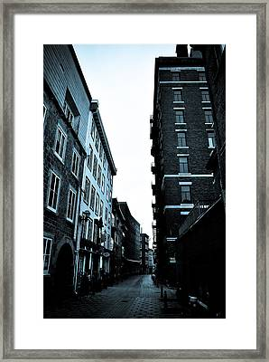 Historic Walk Framed Print by Mark Highfield