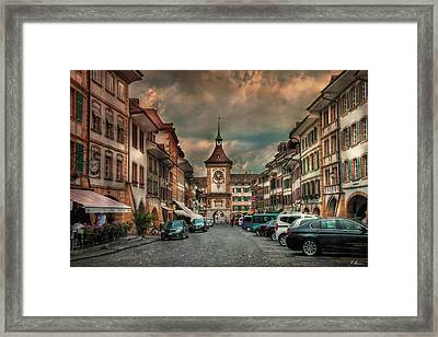 Historical Battle Place Framed Print by Hanny Heim