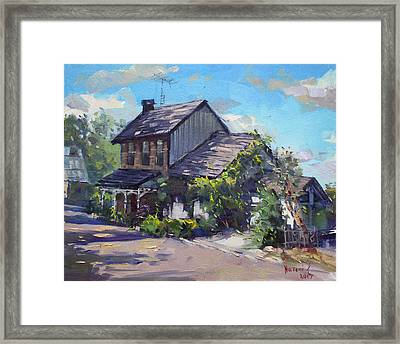 Historical House Ontario Framed Print