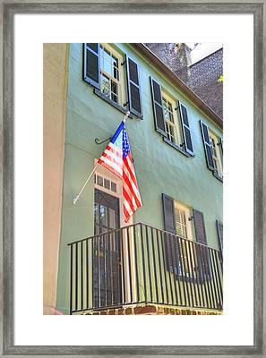 Historical Patriot Framed Print