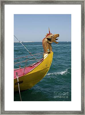 Historical Yacht Framed Print