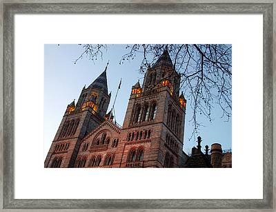 History Museum Framed Print by Jez C Self
