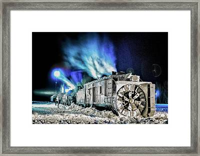 History Repeating Itself Framed Print