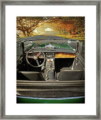 Hit The Road Framed Print by John Anderson