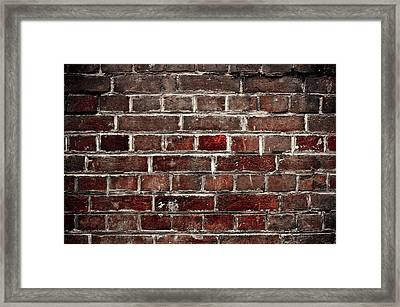Hit The Wall Framed Print by Kelly Jade King
