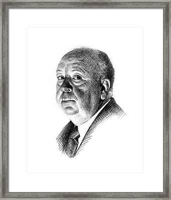 Hitchcock Framed Print by Jason Reisig