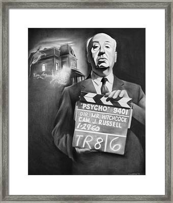 Hitchcock Framed Print by Jimmy Cothren