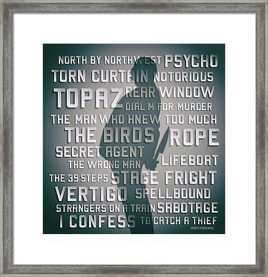 Hitchcock Framed Print