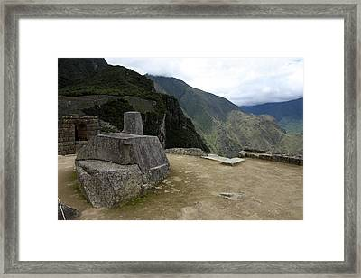 Framed Print featuring the photograph Hitching Post Of The Sun by Aidan Moran