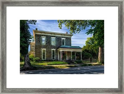 Hite-grigsby House - Bardstown - 1830 - 1 Framed Print by Frank J Benz