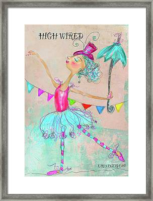 Hiwired Framed Print