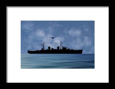 Royal Navy Framed Prints
