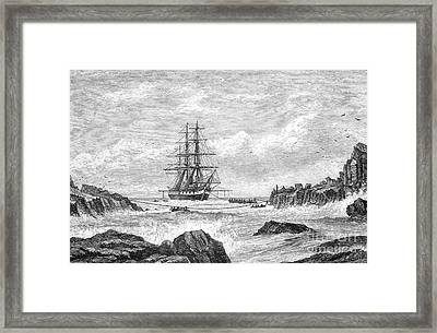 Hms Challenger Expedition 1872-76 Framed Print by Science Source