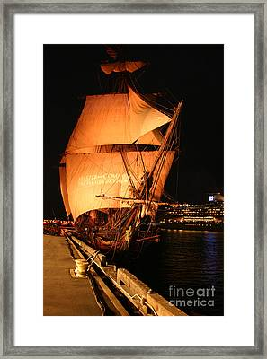 Hms Rose Framed Print by Nina Prommer