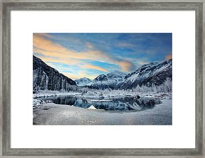 Hoar Frost Framed Print by Ed Boudreau