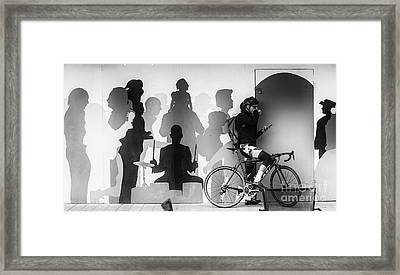 Hoarding At Christchurch Framed Print by Avalon Fine Art Photography