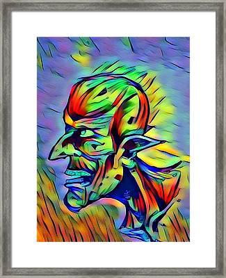 Hob Goblin Framed Print by Joshua Massenburg