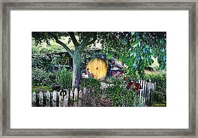 Hobbit Bungalow Framed Print