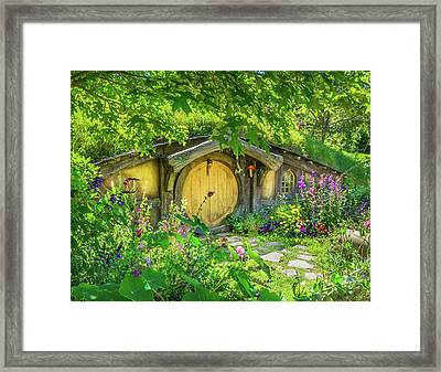 Hobbit Cottage Framed Print