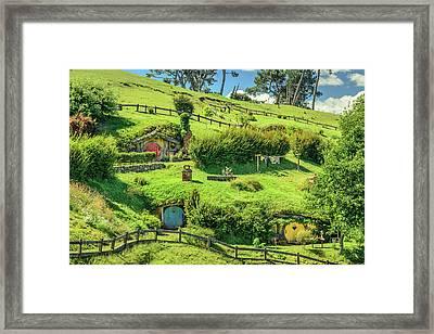 Hobbit Hills Framed Print