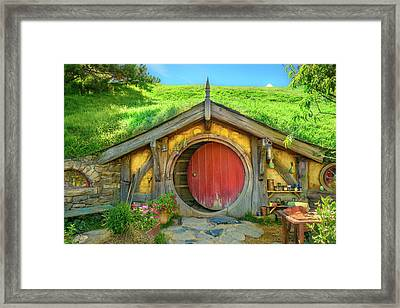 Hobbit House Framed Print