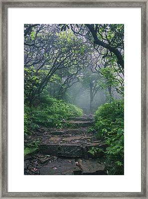Hobbit Land Framed Print by Dawnfire Photography