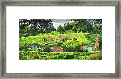 Hobbit Lane Framed Print