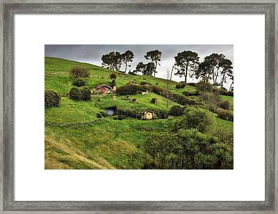 Hobbit Valley Framed Print