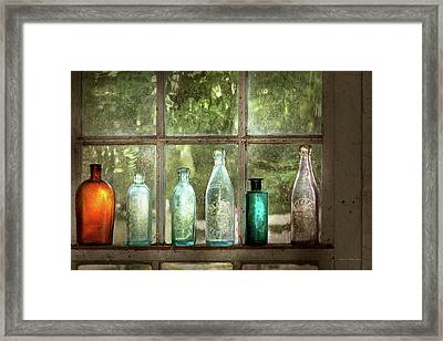 Hobby - Bottles - It's All About The Glass Framed Print