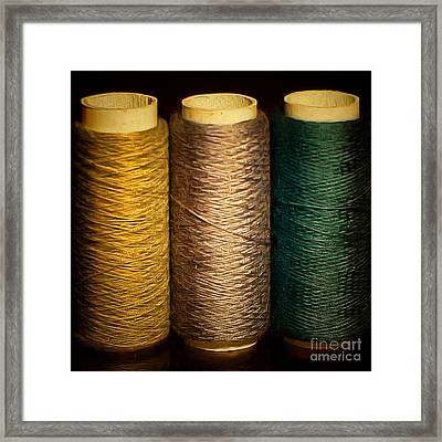 Hobby Sewing Thread 20170913 Framed Print