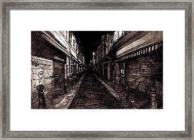 Hobo Estuary Framed Print