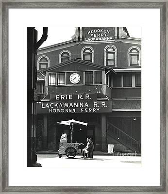 Hoboken Ferry C1966 Framed Print